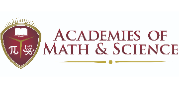 Academies of Math and Science logo