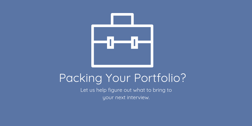 what to bring in your portfolio