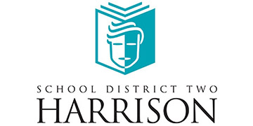 Harrison School District 2 logo