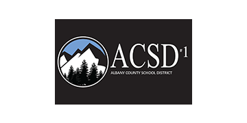 Albany County School District 1 logo
