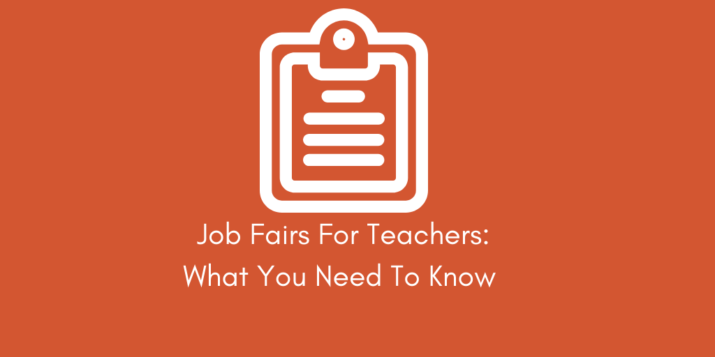 What Teachers Need to Know about Job Fairs