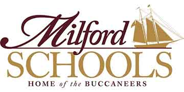 Milford School District logo